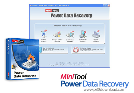 MiniTool Power Data Recovery V7.0.0.0 Personal/Commercial/Enterprise/Technician- Data Recovery Software Crack