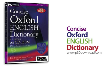 Concise Oxford English Dictionary 10 Edition v1.1 Crack