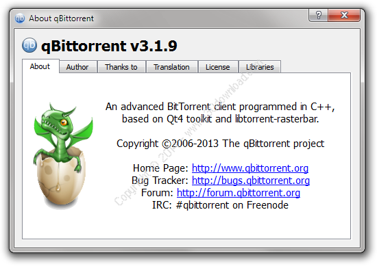 qBittorrent v4.1.0 Crack