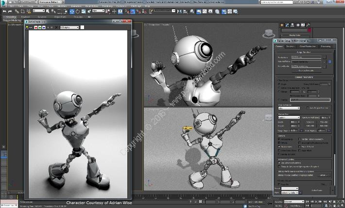 Autodesk 3ds Max 2016 SP3 With Extension 2 x64 + Samples Files Crack