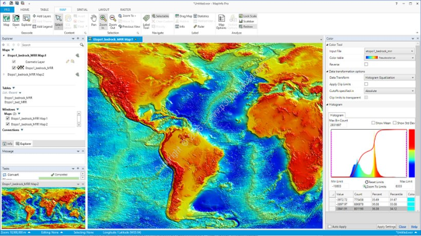 Pitney Bowes MapInfo Professional v16.0 Build 26 x64 Crack