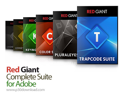 Red Giant Complete Suite 2016 for Adobe 08.2016 Crack