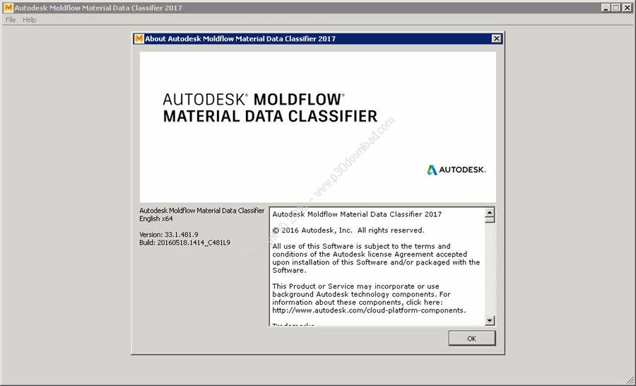 Autodesk Moldflow Material Data Classifier 2017 x64 Crack