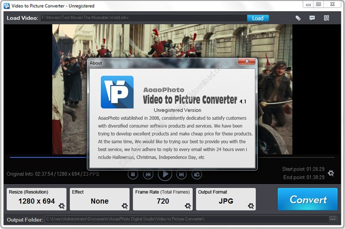 Aoao Video to Picture Converter v5.3 Crack