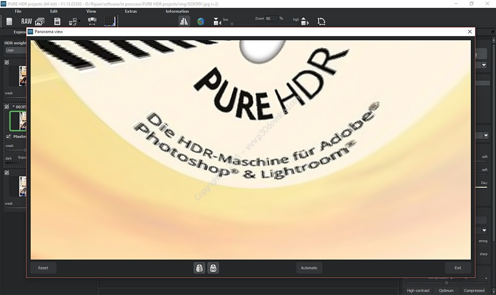 PURE HDR projects v1.15.02593 Crack