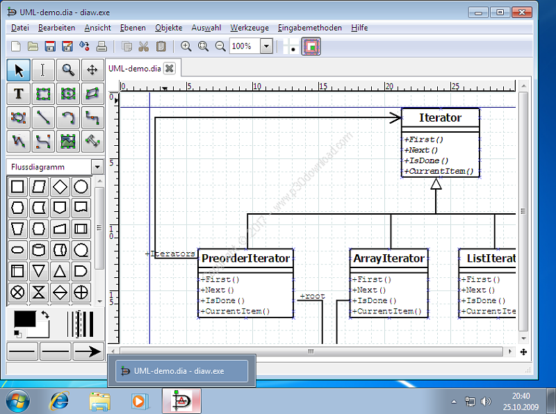 Dia Diagram Editor v0.97.2 Crack
