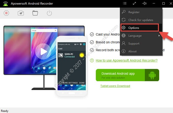 Apowersoft Android Recorder v1.1.7 Crack