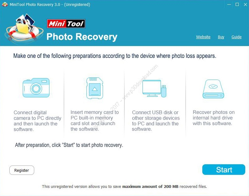 MiniTool Photo Recovery v3.0 Personal/Ultimate/Deluxe Crack