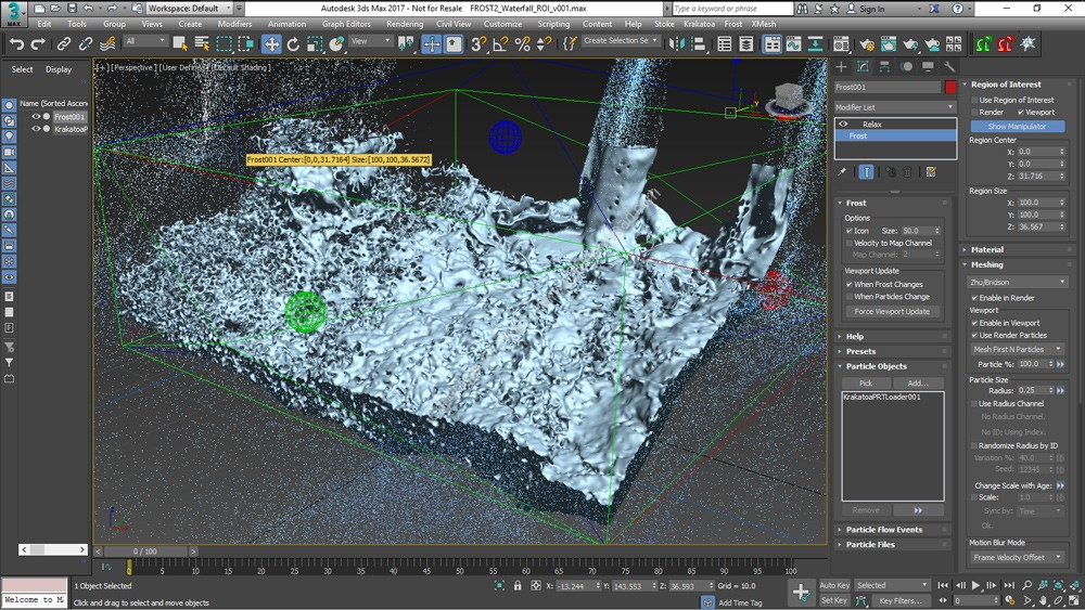 Thinkbox Frost MX v2.3.6 For Autodesk 3ds Max 2013-2018 x64 Crack