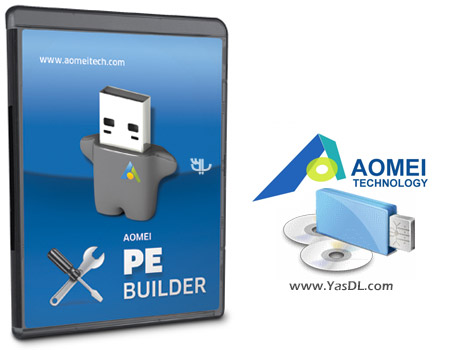 AOMEI PE Builder 2.0 – Making Software Windows Portable Crack