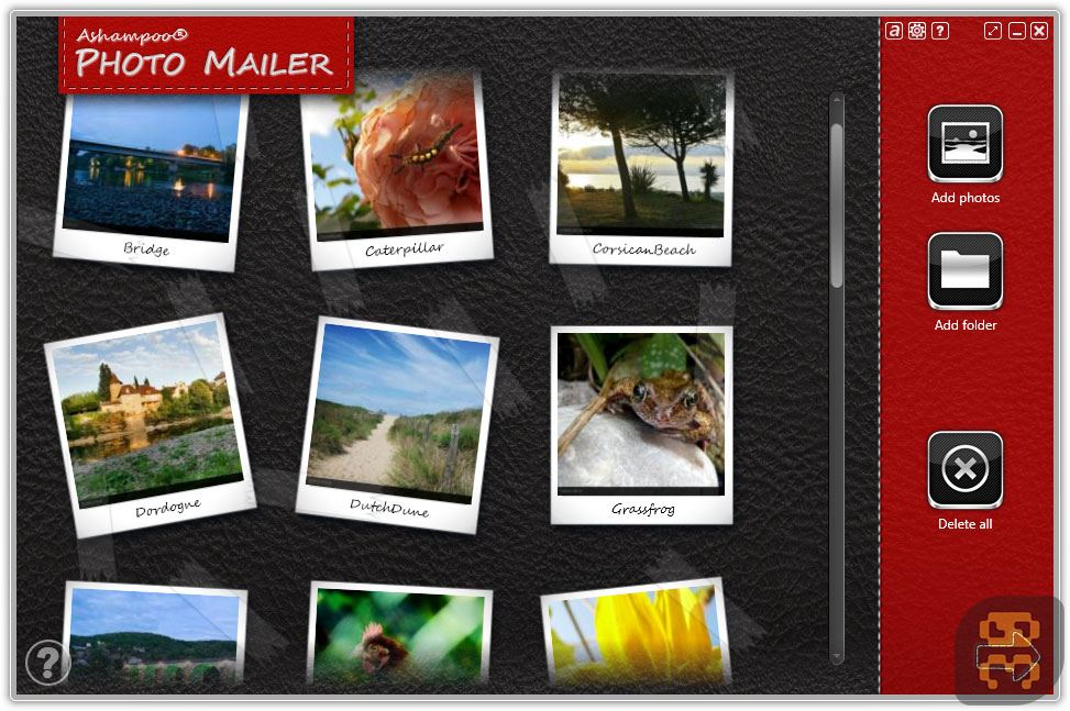 Ashampoo Photo Mailer 1.0.8.2 - Share And Optimize Images For The Internet Crack
