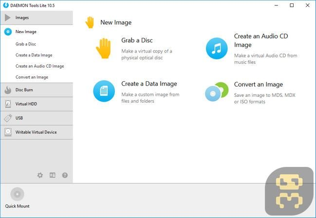 DAEMON Tools - Create A Virtual Drive And Open An Image File Crack