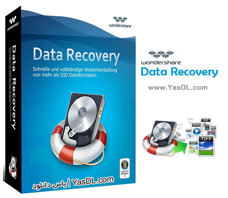 Wondershare Data Recovery 6.6.1.0 + Portable Crack
