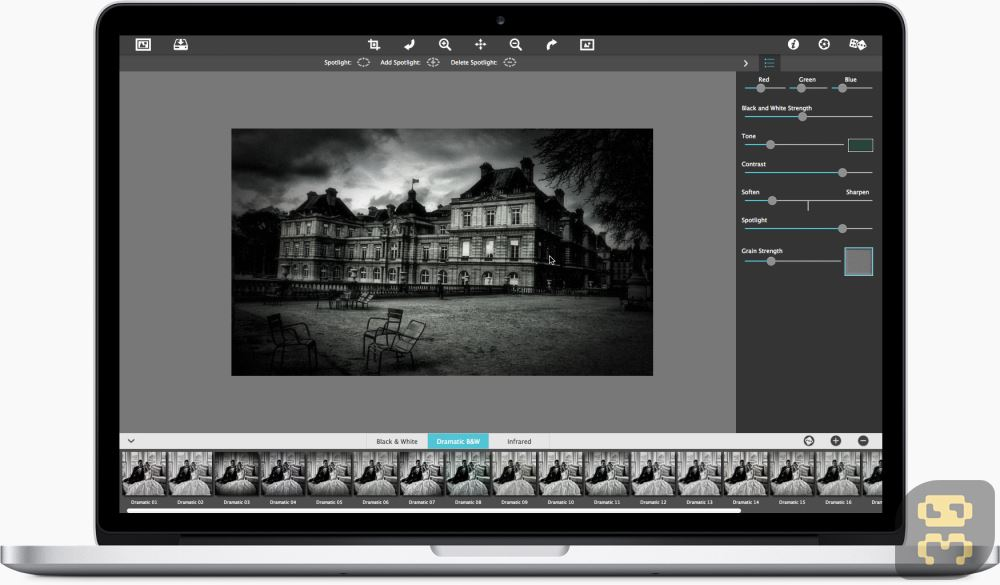 JixiPix Dramatic Black And White 2.6.1 - Blackout Photo Software Crack