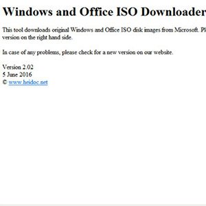 Microsoft Windows And Office ISO Download Tool 2.02 - The Ultimate Windows ISO File Crack