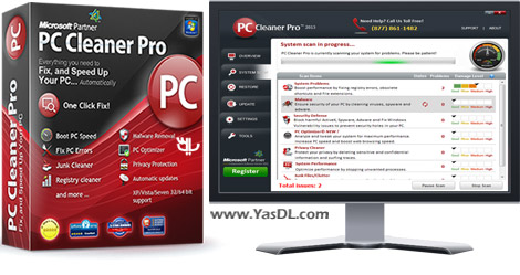 PC Cleaner Pro 2018 14.0.18.4.21 + Portable - Optimize And Boost System Speed Crack