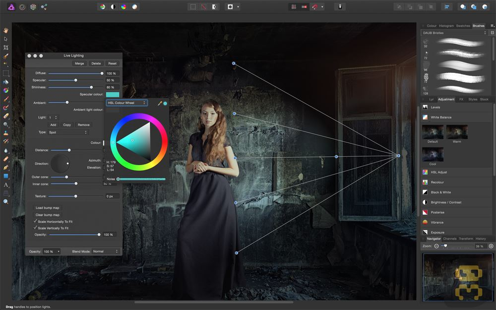 Professional Photo Editing Software Serif Affinity Photo 1.5.2.69 Crack