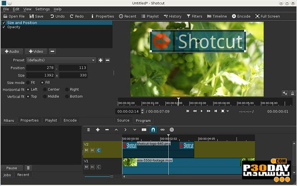 Shotcut 18.05.08 - Free Software For Editing Videos Crack