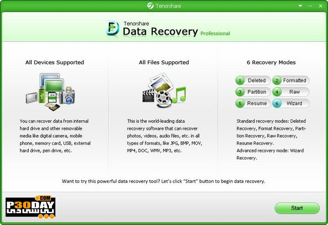 Tenorshare Data Recovery Professional 4.4.0 - Data Recovery Crack