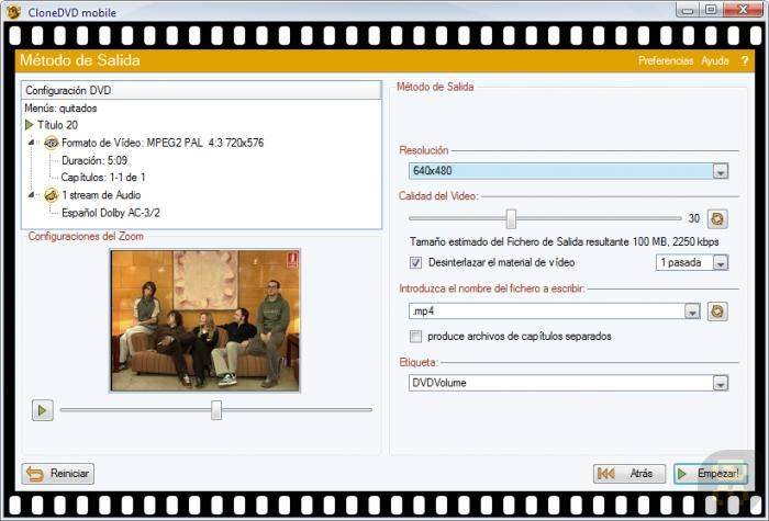 CloneDVD Mobile 1.9.1.0 - Convert Movie To Mobile Format Crack